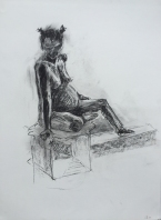 marianne25mins_59x42_charcoalonpaper