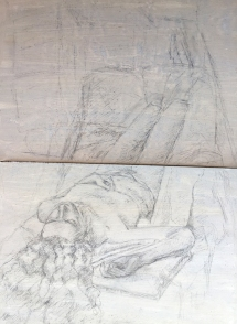 silverpoint sketch