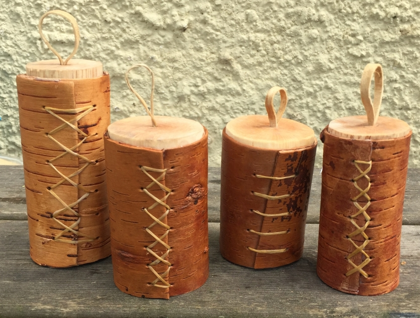birch bark boxes