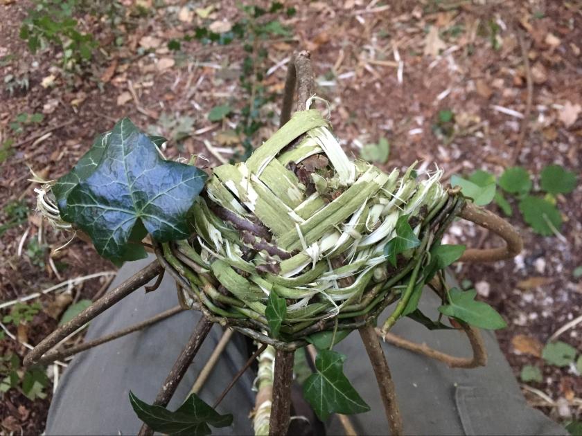 foraged materials basket