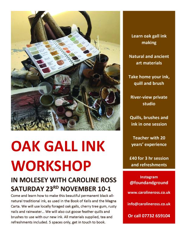 oak gall ink wkshp 2019j
